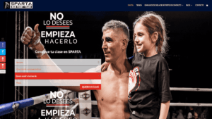 Gym Sparta danimcasas consultor SEO web ecommerce